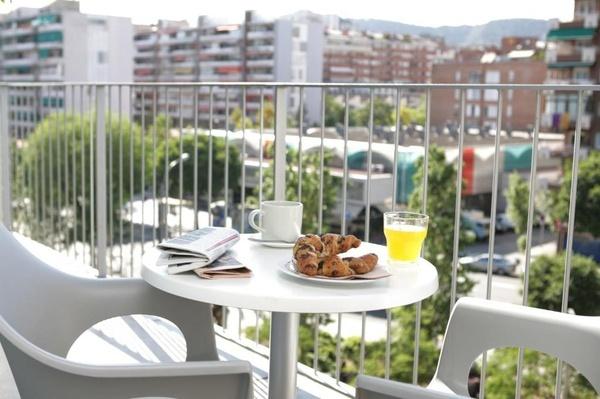 Appartement 1 chambre avec balcon et vue sur la ville