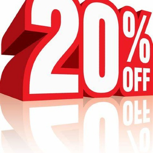 20% DISCOUNT FOR RESERVATIONS WITH A MINIMUM STAY OF 10 NIGHTS