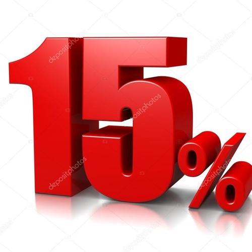 15% DESCUENTO PARA RESERVAS CON MINIMO  ESTANCIA 5 NOCHES