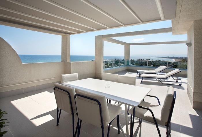 Suite Mediterranea Premium Club Attique Frontale