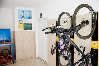 SPORTS & FUN - Sala para bicicletas