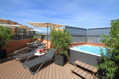 THE HOTEL - Rooftop terrace