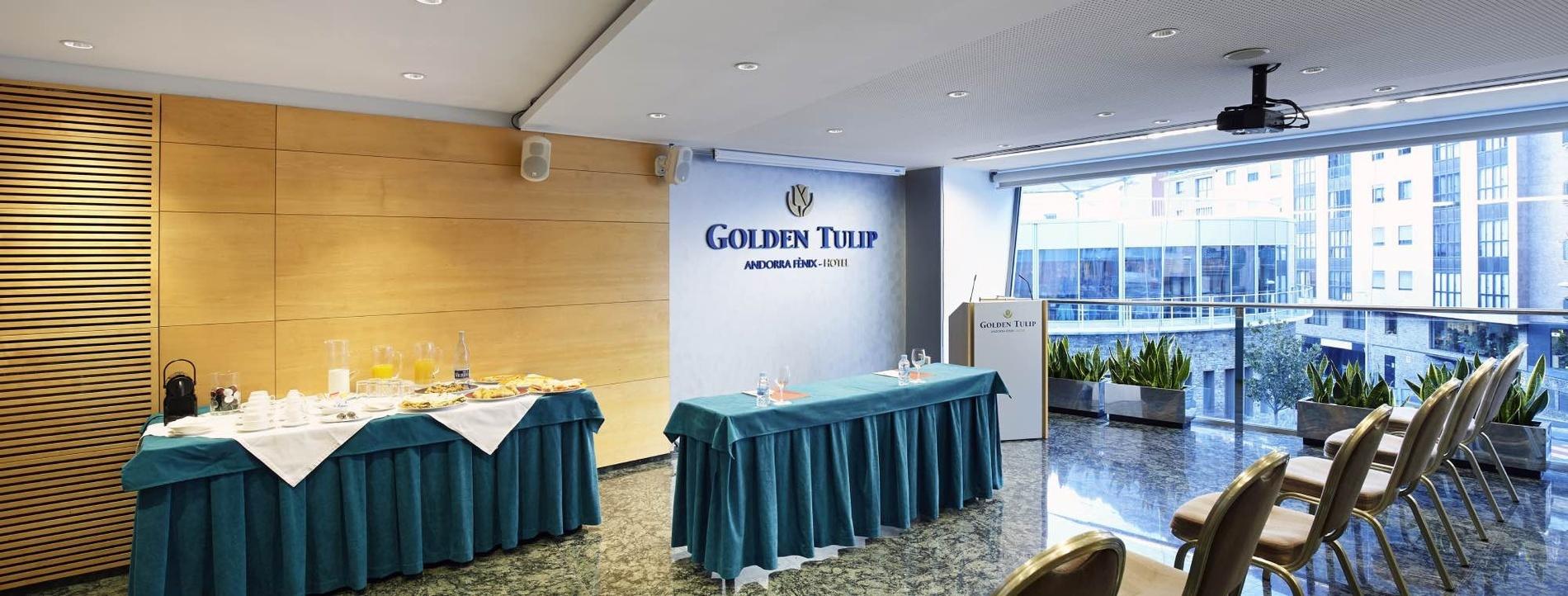 Contracta el teu esdeveniment únic a Golden Tulip Andorra Fenix de 4* a Andorra