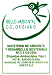 Colombian environmental seal logo