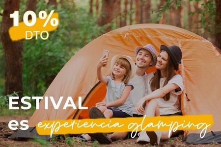 Promoción -10% de Descuento <small>Camping Torre de la Mora</small>