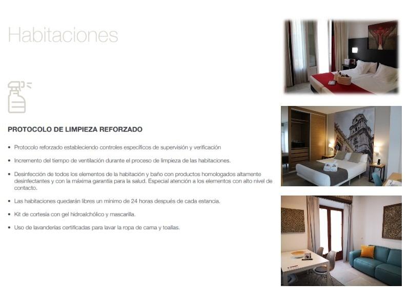 hotel del pintor protocolo covid19