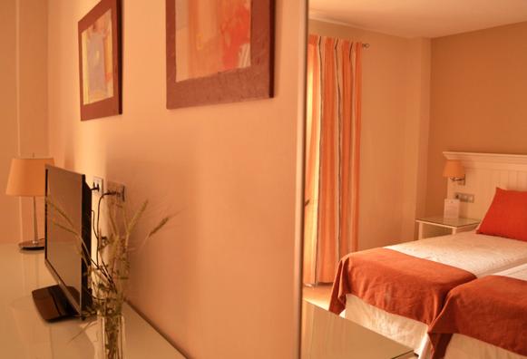 Habitación doble estándar de uso individual