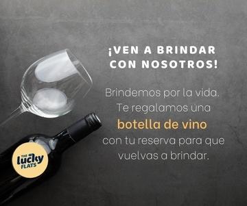 BRINDA CON NOSOTROS