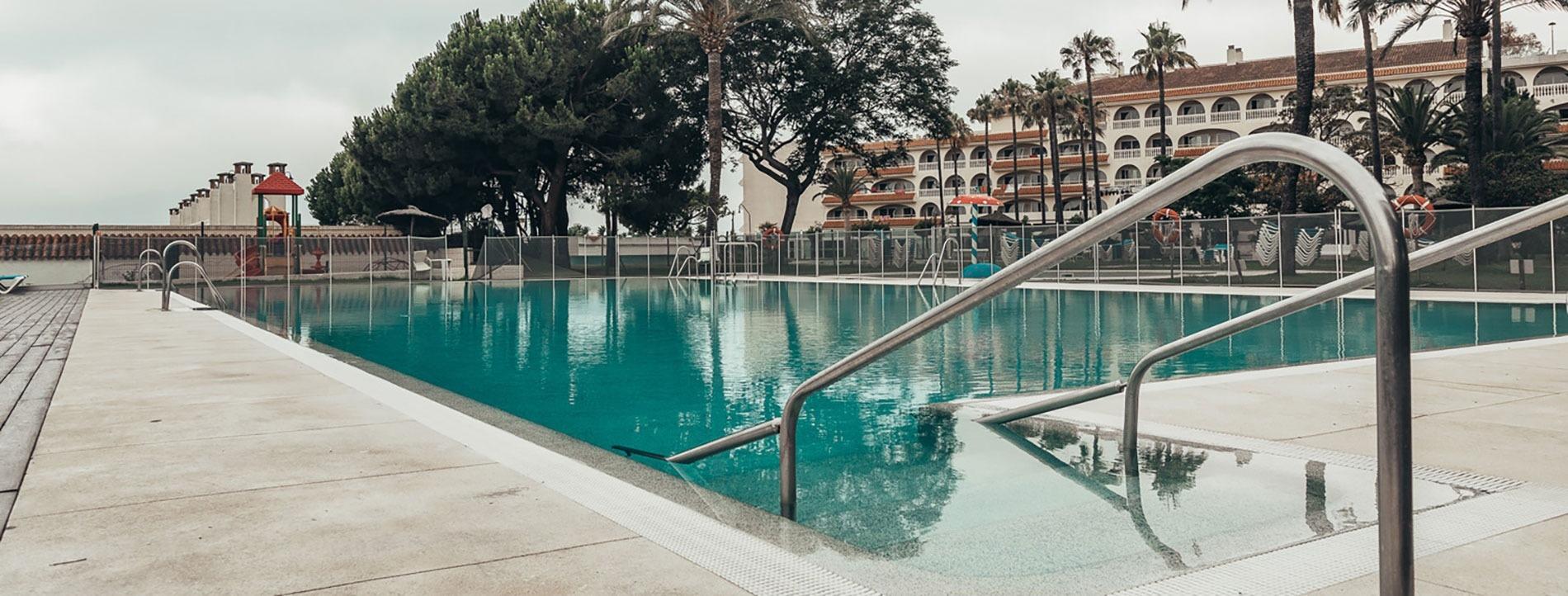 Vistas de las terrazas del hotel y el entorno