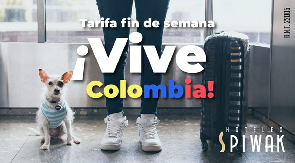 Live Colombia and Cali on the weekend. We have a special rate for you, visit us!