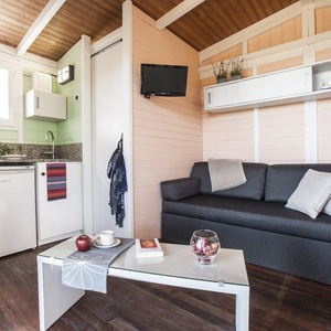 Wooden Bungalow 4 people