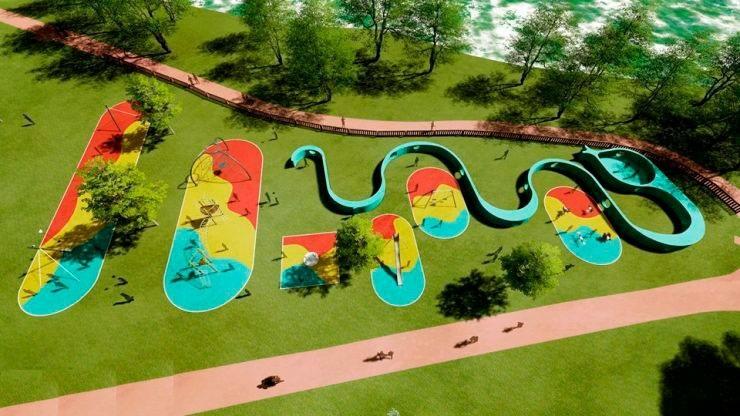 Minigolf Park of Leisure of the Castelinho