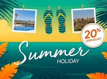 Summer Holidays: -20%