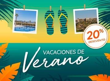 Vacaciones de Verano: -20%